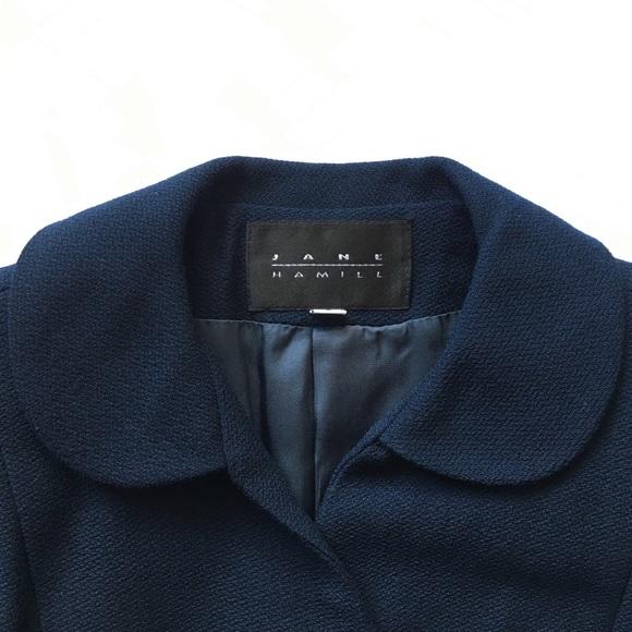 d9b99608bcd4 Jane Hamill Jackets & Coats | Blue Wool Blazer | Poshmark